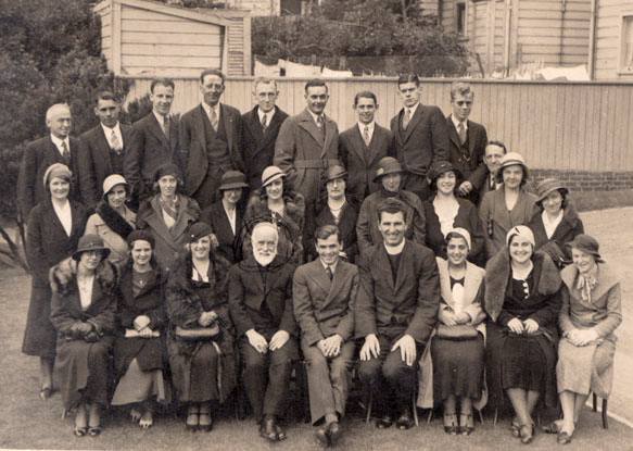 With St Jospeh's Choir, Wellington ca.1935